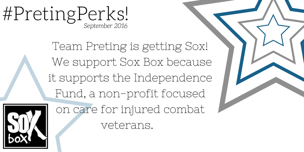 #PretingPerks! May 2015