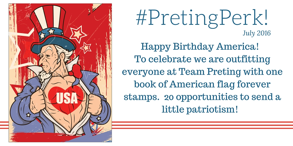 #PretingPerks! March 2015