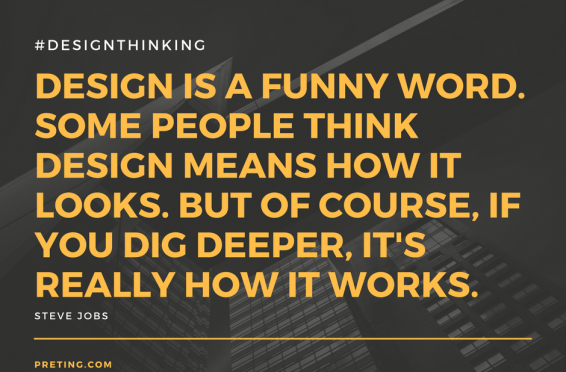 """DESIGN IS A FUNNY WORD SOME PEOPLE THINK MEANS HOW IT LOOKS. BUT OF COURSE IF YOU DIG DEEPER, IT'S REALLY HOW IT WORKS."""