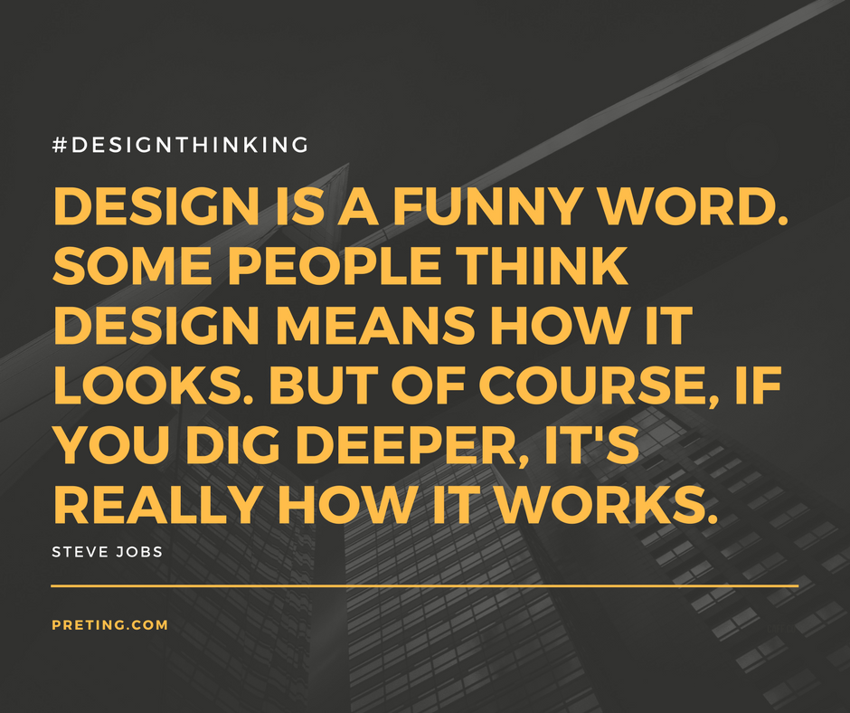"""""""DESIGN IS A FUNNY WORD SOME PEOPLE THINK MEANS HOW IT LOOKS. BUT OF COURSE IF YOU DIG DEEPER, IT'S REALLY HOW IT WORKS."""""""