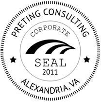 Preting Training Seal
