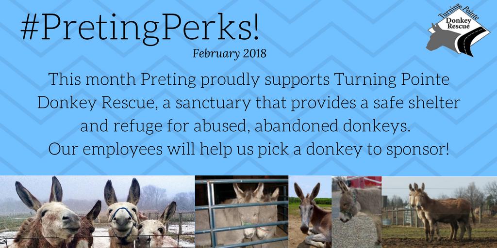 #PretingPerks! February 2018