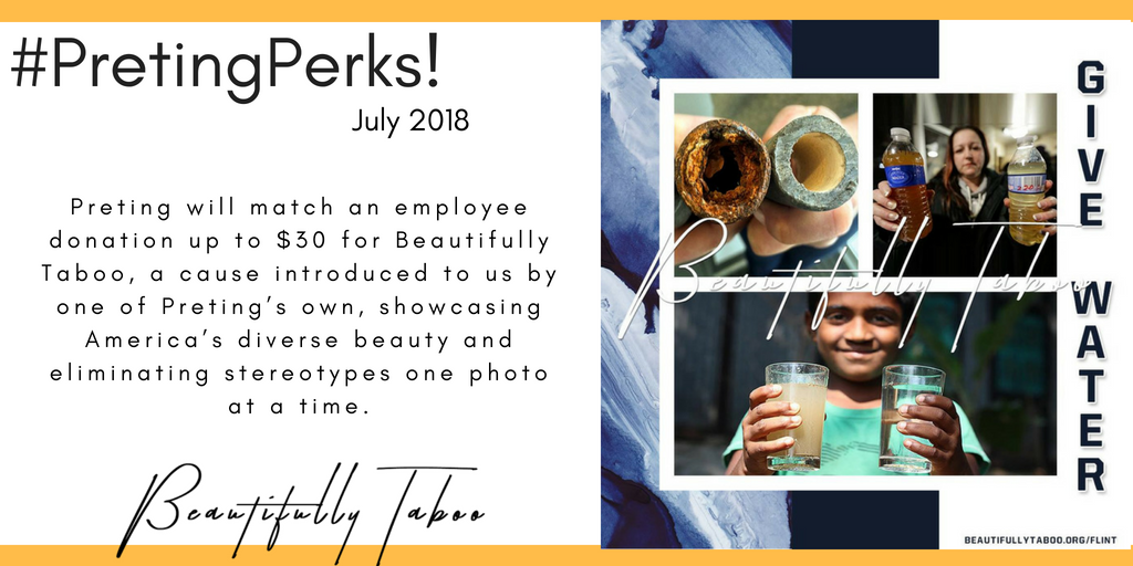 #PretingPerks! July 2018
