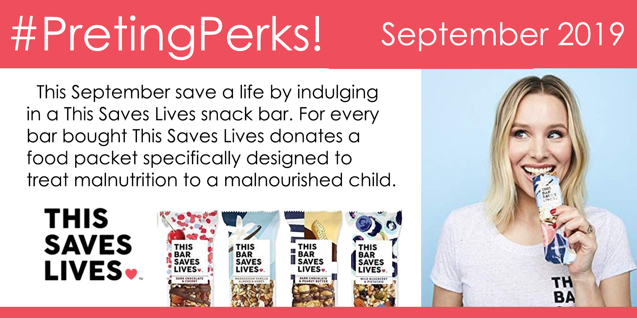 #PretingPerks! September 2019